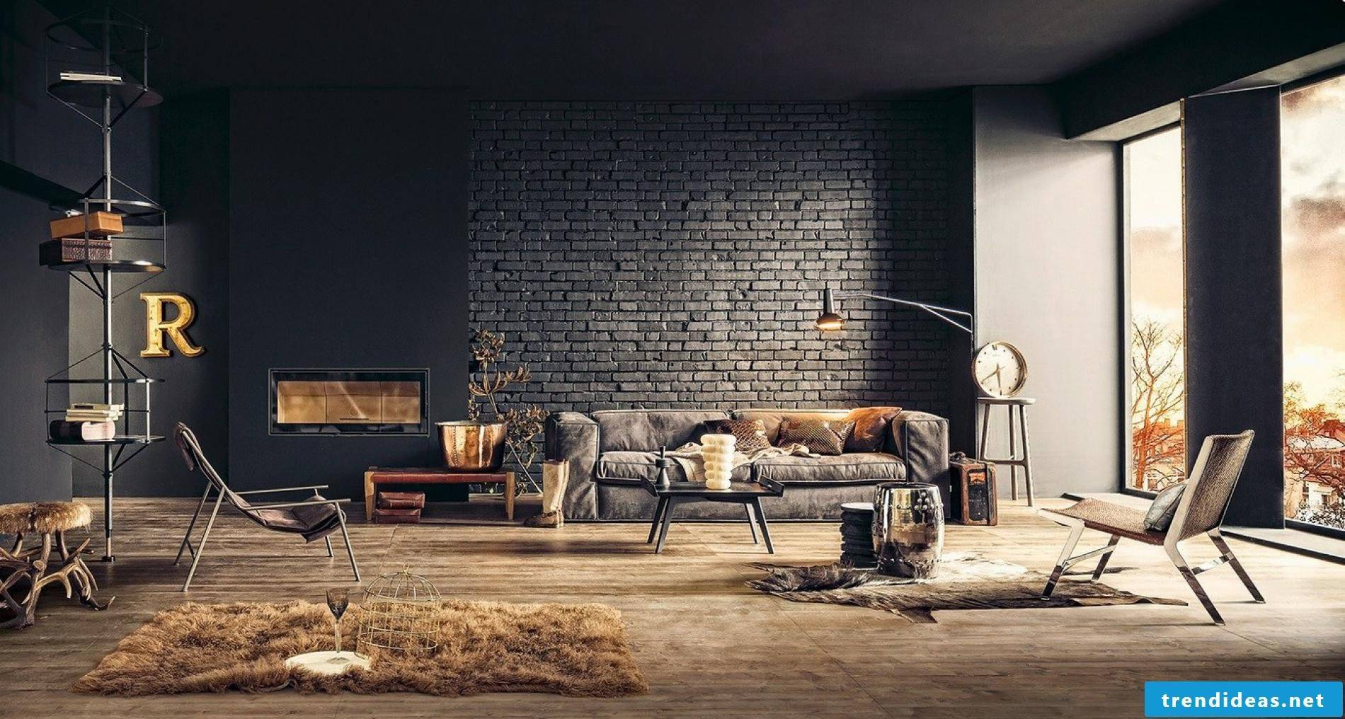 Industrial chic seems like a home decor style that finds a real beauty in the utilitarian and aged look.
