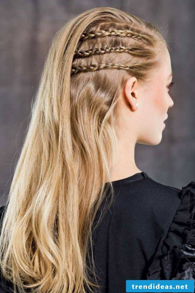 Braided hairstyles modern braids braided sideways