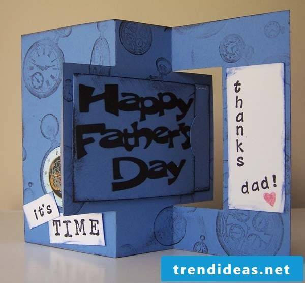 Wish Father a Happy Father's Day with our DIY Father's Day Card Instructions