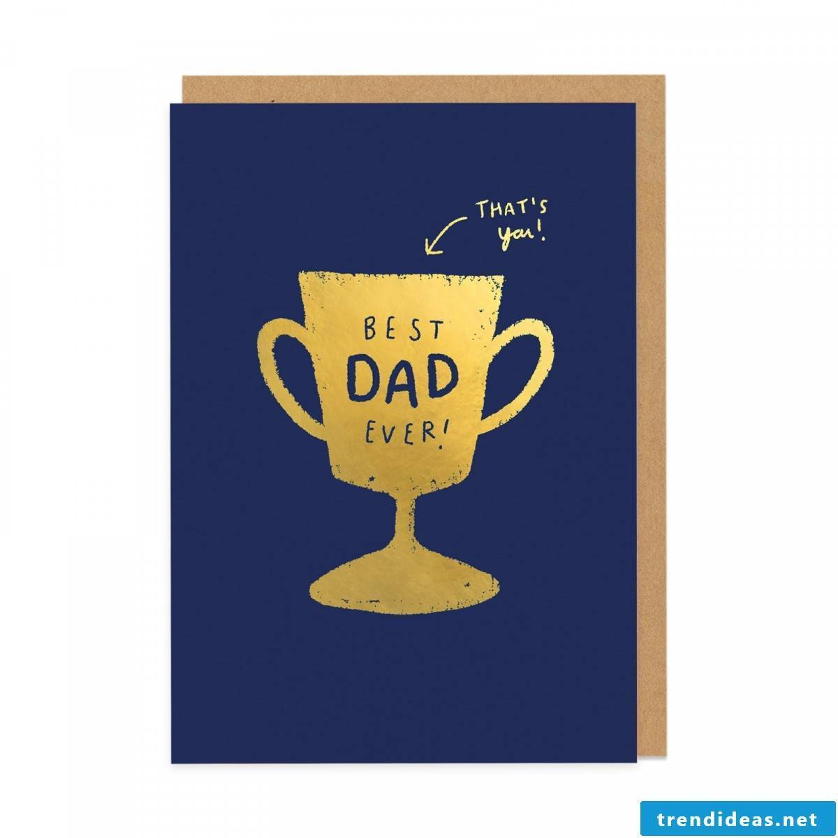 Find sayings for dad and make a Father's Day card