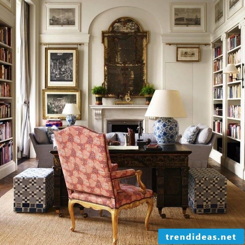 Antique furniture in rustik