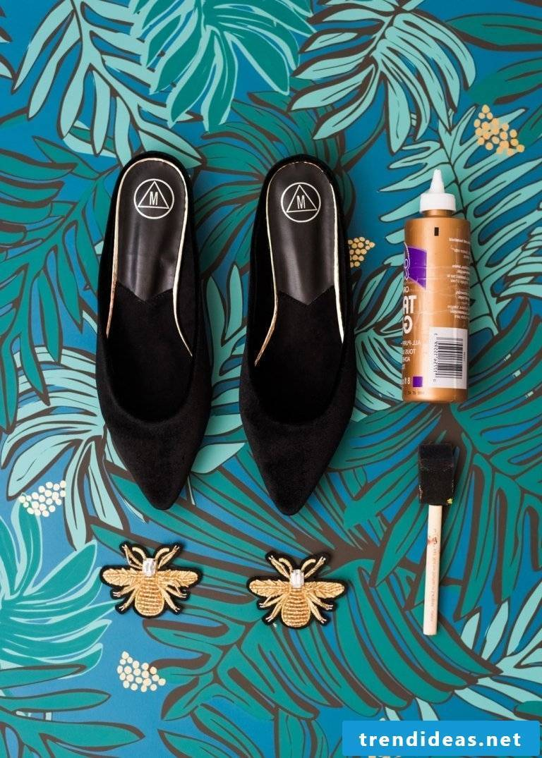 Spice up your DIY shoes: Necessary materials