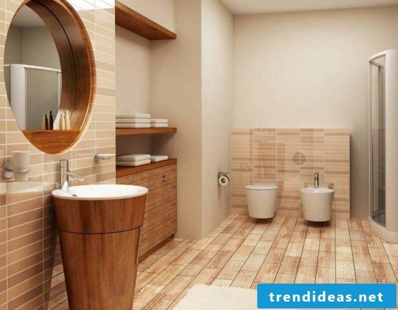 wooden floor modern