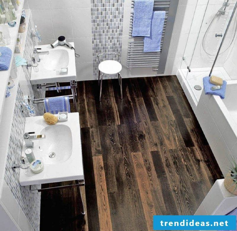 trendy wood floor