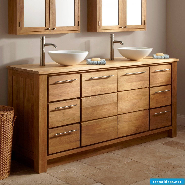 fancy wood vanity top