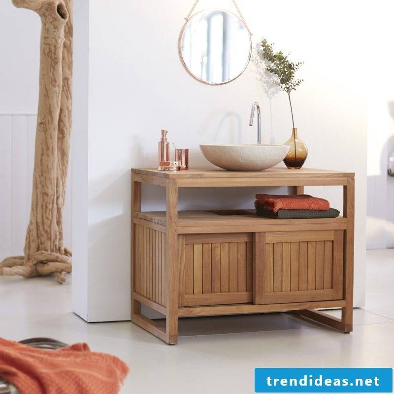 wood vanity top is currently more and more fashionable and combined with different styles