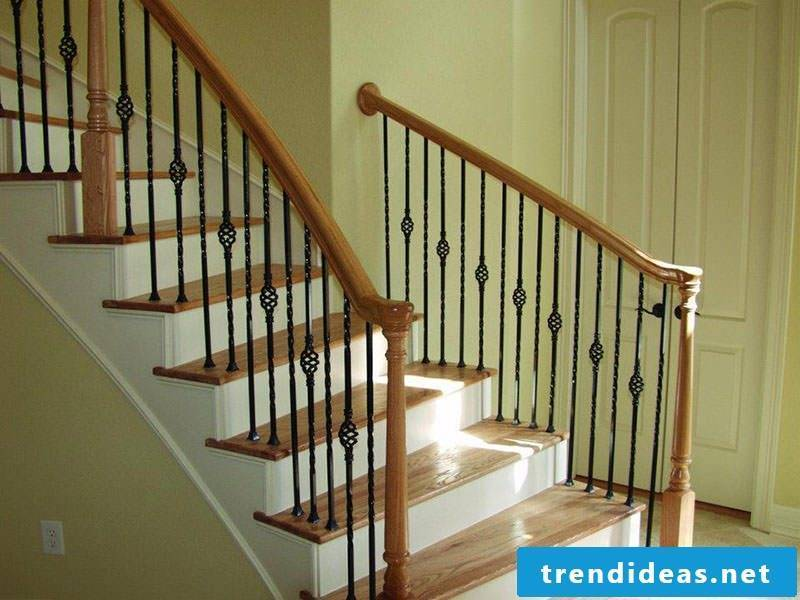 wooden railing elegant