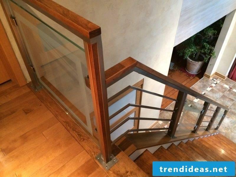 Wooden railing failed
