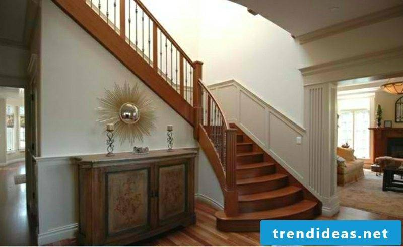 wooden staircase traditional wood